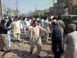 Đánh bom tại Pakistan, 46 người thương vong