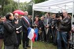 Gắn biển di tích lịch sử Việt Nam tại ngoại ô Paris