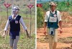 Naomi Watts tái hiện Công nương Diana trên bãi mìn Phi châu