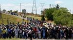 8.500 thợ mỏ Nam Phi bị sa thải vì đình công