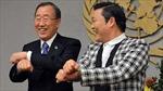 """Psy dạy Tổng thư ký LHQ nhảy """"Gangnam Style"""""""