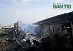 Hỏa hoạn cực lớn, 1.000m2 nhà xưởng bị thiêu rụi