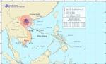 Tâm bão số 8 sát bờ biển Thái Bình – Nam Định