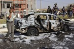 Đánh bom xe tại Iraq, 40 người thương vong