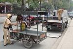 Hà Nội xử lý hơn 100 lái xe ba bánh giả danh thương binh