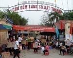Mâu thuẫn thuê chỗ, tiểu thương chợ Bát Tràng bãi thị