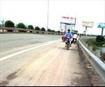 """Xử lý """"hai nghề lạ"""" trên đường cao tốc Pháp Vân - Cầu Giẽ"""