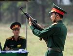 Phúc tra kết quả cán bộ huấn luyện Điều lệnh giỏi toàn quân