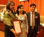Việt Nam giành Huy chương Vàng tại Hội chợ FIHAV 2012