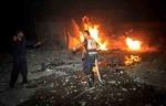 Máy bay Israel lại không kích Dải Gaza