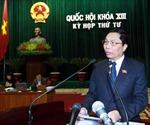 Bộ trưởng Bộ Công Thương và Bộ Xây dựng trả lời chất vấn