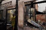 Hỏa hoạn thiêu rụi hai căn nhà