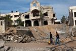 Israel san bằng sở chỉ huy cảnh sát ở Gaza