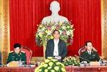 Giao ban về việc thực hiện Chỉ thị 03 - CT/TW của Bộ Chính trị