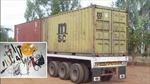 Trộm nhởn nhơ 'móc ruột' container