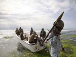 Cảnh sát biển tóm gọn 11 tên cướp biển nước ngoài