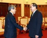 Phó Thủ tướng Nguyễn Thiện Nhân tiếp Chủ tịch cơ quan Thanh tra và Kiểm toán Hàn Quốc
