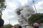 Cháy lớn khu chế xuất, thiệt hại hàng trăm tỷ