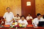 Đoàn kiểm tra Bộ Chính trị làm việc với lãnh đạo TPHCM