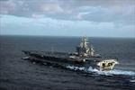 Tàu sân bay hạt nhân Mỹ đến Địa Trung Hải