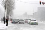 Bão tuyết hoành hành ở Tây Bắc Trung Quốc