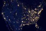 Khi Trái Đất 'lên đèn'