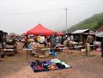Chợ phiên nơi ngã ba biên giới