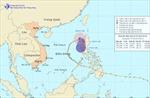 Bão số 9 suy yếu thành áp thấp nhiệt đới