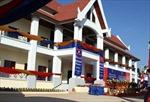Bàn giao trường học ở Lào do Nhà nước Việt Nam trao tặng