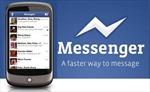 Facebook tung ứng dụng nhắn tin miễn phí cho Android