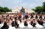 Kỷ lục lễ cưới tập thể của 120 đôi