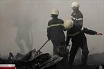 Cháy lớn sát cây xăng, nhiều người hoảng loạn