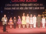 Em Nguyễn Chiến Thắng giành giải tiếng hát họa mi Hà Nội