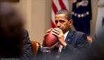 Ảnh 'độc' đáng yêu của Obama