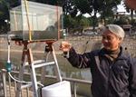 Nước sông Tô Lịch có thể... uống được!