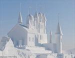 Ấn tượng các tác phẩm làm từ tuyết