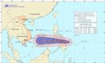 Bão gần biển Đông
