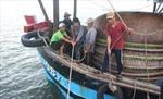Cứu 13 ngư dân gặp nạn trên biển