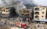 Nổ kho pháo hoa tại Nigeria, 10 tòa nhà đổ sập