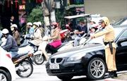 CSGT Hà Nội không giữ xe vi phạm vào giờ cao điểm