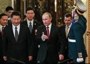 Nga - Trung nâng tầm đối tác chiến lược