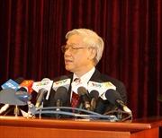 Toàn văn phát biểu của Tổng Bí thư Nguyễn Phú Trọng bế mạc Hội nghị Trung ương 7