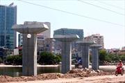 Đường sắt trên cao Cát Linh - Hà Đông nguy cơ 'vỡ' tiến độ