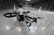 Hào hứng với xe đạp bay