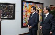 Chủ tịch nước Trương Tấn Sang trả lời phỏng vấn báo The Jakarta Post