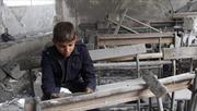 2,5 triệu trẻ em Syria có nguy cơ thất học