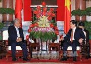 Chủ tịch nước Trương Tấn Sang tiếp Thủ tướng Timor Leste