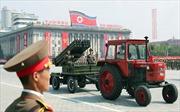 Sống động lễ duyệt binh tại Triều Tiên