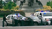 Video rượt đuổi 'xe điên' tại Đồi Capitol