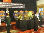Lễ viếng Đại tướng Võ Nguyên Giáp tại thành phố Hồ Chí Minh